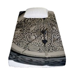 Clock Celtic Knot Time Celtic Knot Fitted Sheet (single Size)
