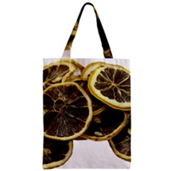 Lemon Dried Fruit Orange Isolated Zipper Classic Tote Bag by Nexatart