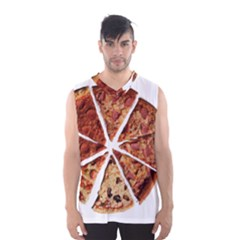 Food Fast Pizza Fast Food Men s Basketball Tank Top