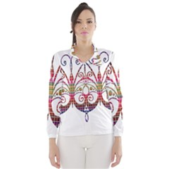 Butterfly Nature Abstract Beautiful Wind Breaker (women)