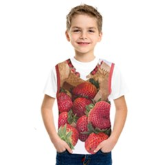 Strawberries Fruit Food Delicious Kids  Sportswear
