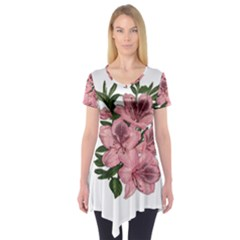 Orchid Short Sleeve Tunic