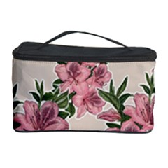 Orchid Cosmetic Storage Case by Valentinaart