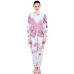 Spring Blossom  Onepiece Jumpsuit (ladies)