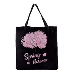 Spring Blossom  Grocery Tote Bag by Valentinaart