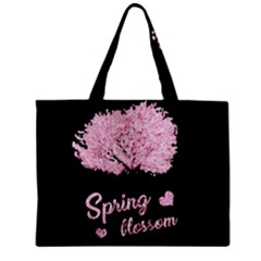 Spring Blossom  Zipper Mini Tote Bag by Valentinaart