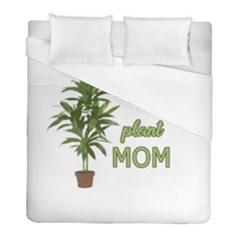 Plant Mom Duvet Cover (full/ Double Size) by Valentinaart