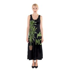 Plant Mom Sleeveless Maxi Dress by Valentinaart