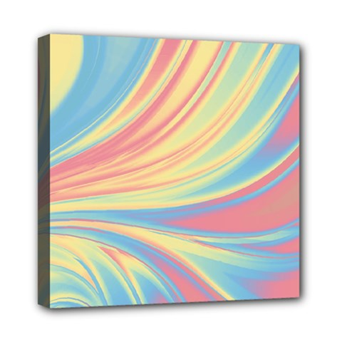 Colors Mini Canvas 8  X 8  by ValentinaDesign