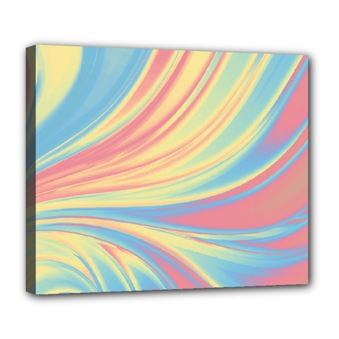 Colors Deluxe Canvas 24  X 20   by ValentinaDesign