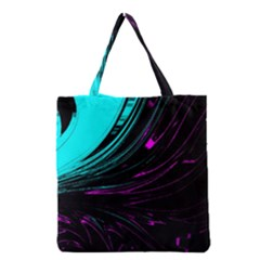 Colors Grocery Tote Bag by ValentinaDesign