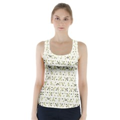 Abstract Shapes Pattern Racer Back Sports Top by dflcprintsclothing
