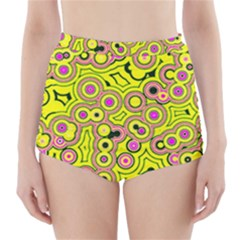 Bubble Fun 17d High Waisted Bikini Bottoms by MoreColorsinLife