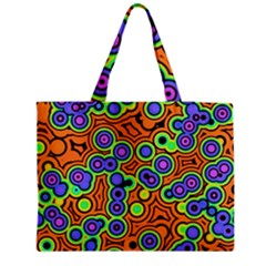 Bubble Fun 17a Medium Zipper Tote Bag by MoreColorsinLife