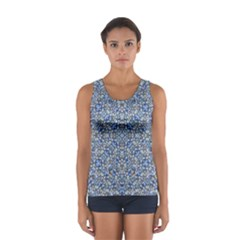 Geometric Luxury Ornate Women s Sport Tank Top  by dflcprintsclothing