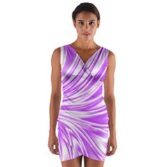 Colors Wrap Front Bodycon Dress by ValentinaDesign