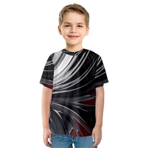 Colors Kids  Sport Mesh Tee by ValentinaDesign