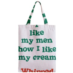 Whipped Cream Zipper Classic Tote Bag by b34poison