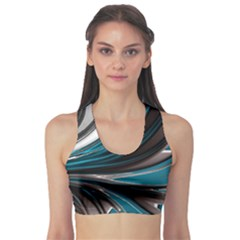 Colors Sports Bra by ValentinaDesign