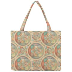 Complex Geometric Pattern Mini Tote Bag by linceazul