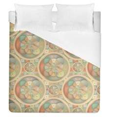Complex Geometric Pattern Duvet Cover (queen Size) by linceazul
