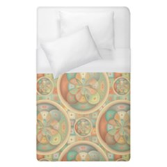 Complex Geometric Pattern Duvet Cover (single Size) by linceazul