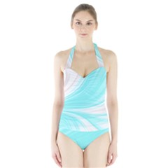 Colors Halter Swimsuit by ValentinaDesign