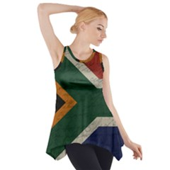 Vintage Flag - South Africa Side Drop Tank Tunic by ValentinaDesign