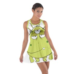 The Most Ugly Alien Ever Cotton Racerback Dress by Catifornia