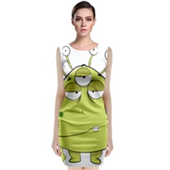 The Most Ugly Alien Ever Classic Sleeveless Midi Dress by Catifornia