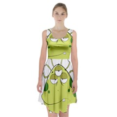 The Most Ugly Alien Ever Racerback Midi Dress by Catifornia