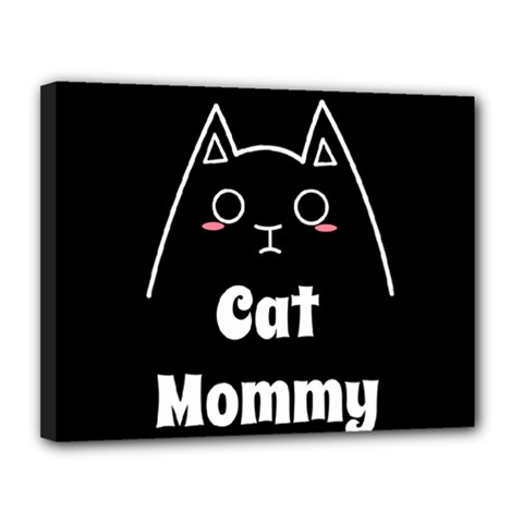 Love My Cat Mommy Canvas 14  X 11  by Catifornia