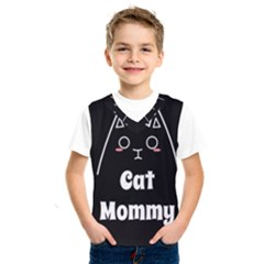 Love My Cat Mommy Kids  Sportswear by Catifornia