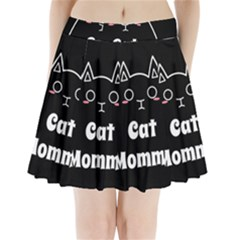 Love My Cat Mommy Pleated Mini Skirt by Catifornia