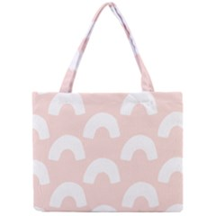 Donut Rainbows Beans Pink Mini Tote Bag by Mariart