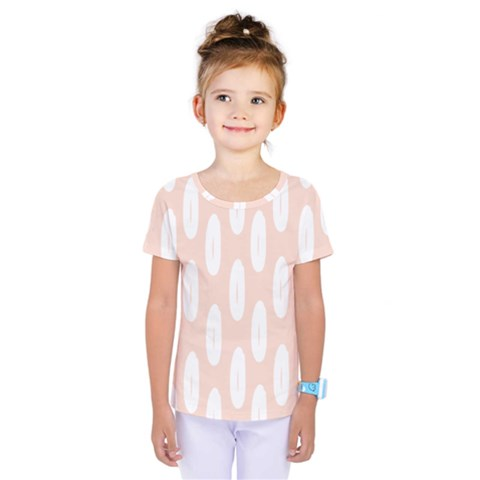 Donut Rainbows Beans White Pink Food Kids  One Piece Tee by Mariart