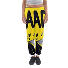 Have Meant  Tech Science Future Sad Yellow Street Women s Jogger Sweatpants by Mariart