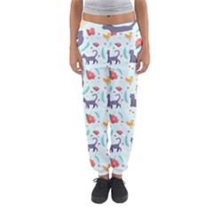 Redbubble Animals Cat Bird Flower Floral Leaf Fish Women s Jogger Sweatpants by Mariart