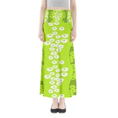 Sunflower Green Maxi Skirts by Mariart