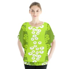 Sunflower Green Blouse by Mariart