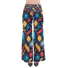 Worm Insect Bacteria Monster Pants by Mariart