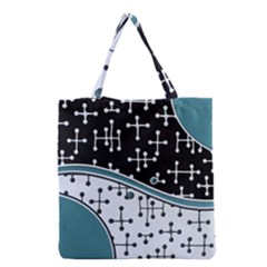 Decoboom Custom Pickguard Engraved Eames Dots Grocery Tote Bag by Mariart