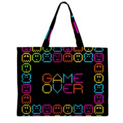 Game Face Mask Sign Zipper Mini Tote Bag by Mariart