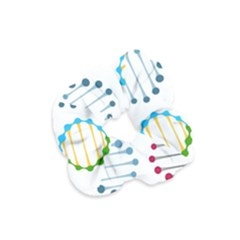 Genetic Dna Blood Flow Cells Velvet Scrunchie by Mariart
