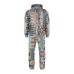 Deco Heritage Mix Hooded Jumpsuit (kids) by Mariart