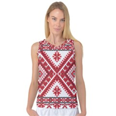 Fabric Aztec Women s Basketball Tank Top by Mariart