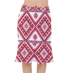Fabric Aztec Mermaid Skirt by Mariart