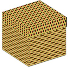Points Cells Paint Texture Plaid Triangle Polka Storage Stool 12   by Mariart