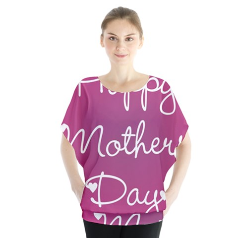 Valentine Happy Mothers Day Pink Heart Love Blouse by Mariart