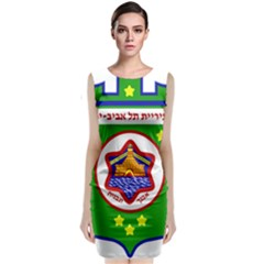Tel Aviv Coat Of Arms  Classic Sleeveless Midi Dress by abbeyz71